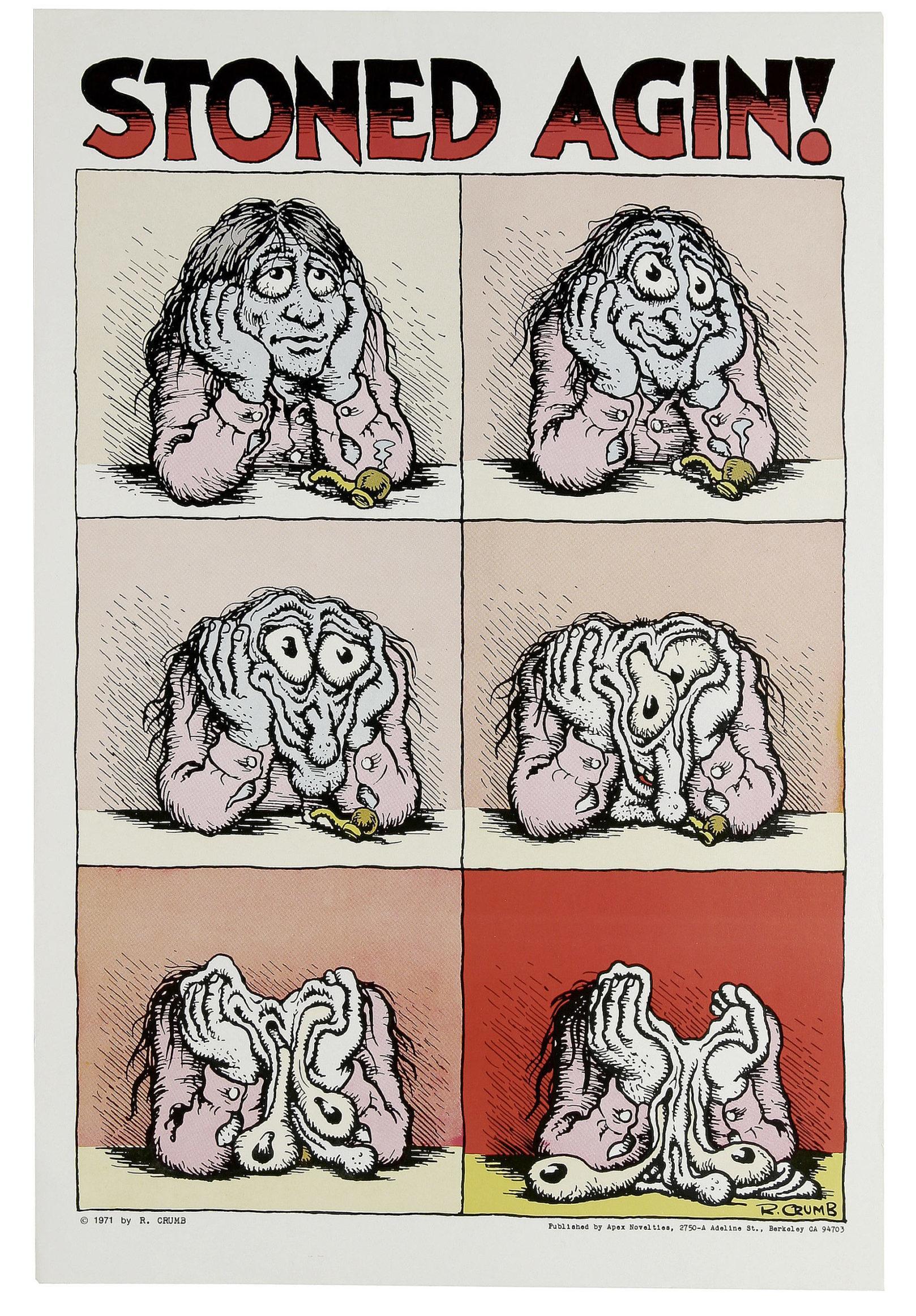 Stoned Agin! – Słynny Komiks Roberta Crumb'a Zlicytowany Za Ogromną Sumę, Dutch Seeds